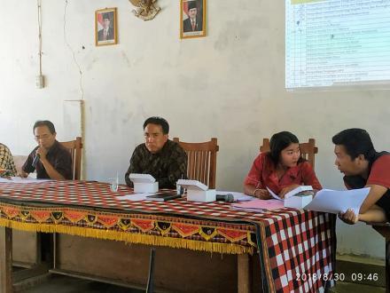 MUSYAWARAH DESA PENYUSUNAN RKP DESA LES TAHUN2019