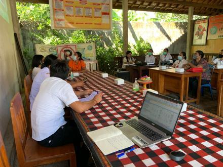 Musyawarah Desa Penetapan Perubahan Anggaran Pendapatan dan Belanja Desa Les Tahun 2021
